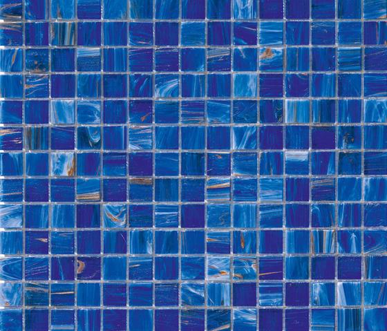 Aurore 20x20 Blu de Mosaico+ | Mosaicos de vidrio