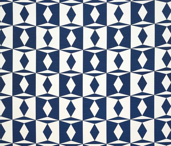 Manises blue von Gastón y Daniela | Vorhangstoffe
