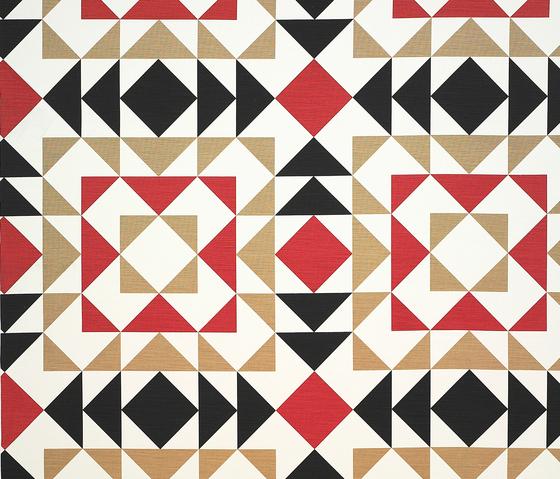 Fez rojo-negro by Gastón y Daniela | Curtain fabrics