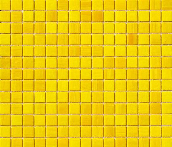 Aurore 20x20 Giallo by Mosaico+ | Glass mosaics