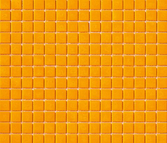 Aurore 20x20 Senape von Mosaico+ | Glas Mosaike