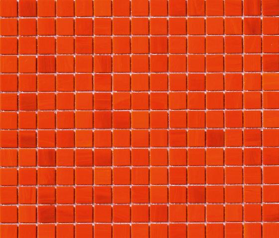 Aurore 20x20 Arancio by Mosaico+ | Glass mosaics