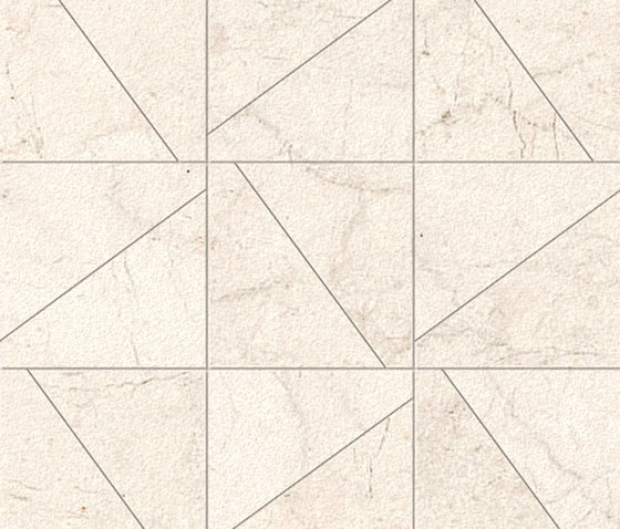 Nacaré Blanco Plus Satin Polished SK Mosaic B by INALCO | Ceramic mosaics