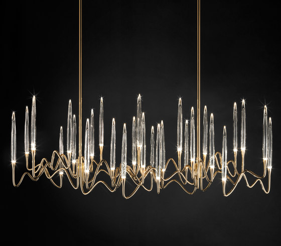 IL PEZZO 3 CHANDELIER by Il Pezzo Mancante | Ceiling suspended chandeliers