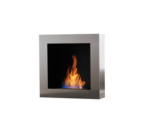 Cubico BL by Safretti | Ventless fires