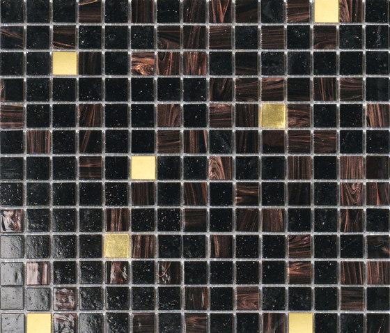 Cromie Oro Nero by Mosaico+ | Glass mosaics