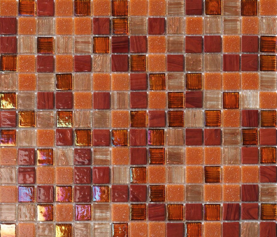 Cromie Ambra by Mosaico+ | Glass mosaics