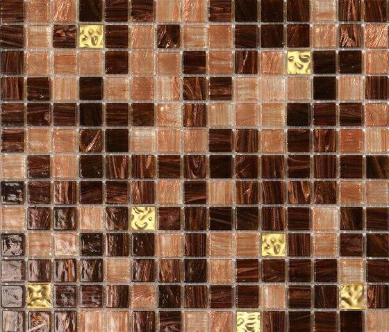 Cromie Oromarrone by Mosaico+ | Glass mosaics