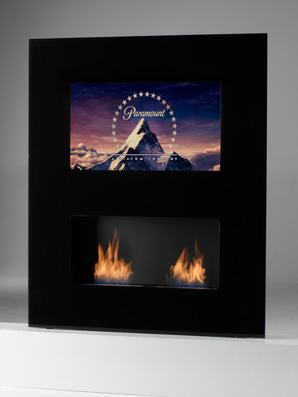Double Vision by Safretti | Ventless ethanol fires