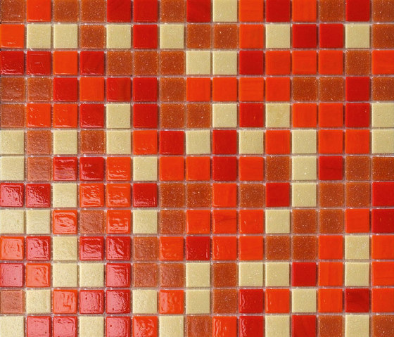 Cromie Rosso di Mosaico+ | Mosaici