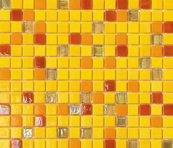 Cromie Giallo by Mosaico+ | Glass mosaics