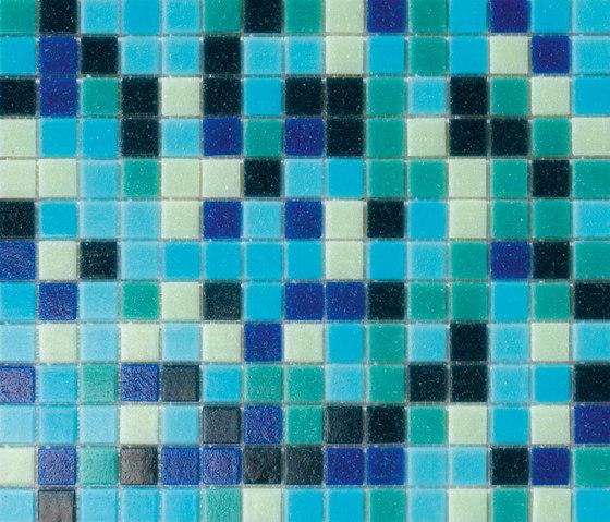 Cromie Turchese by Mosaico+ | Glass mosaics