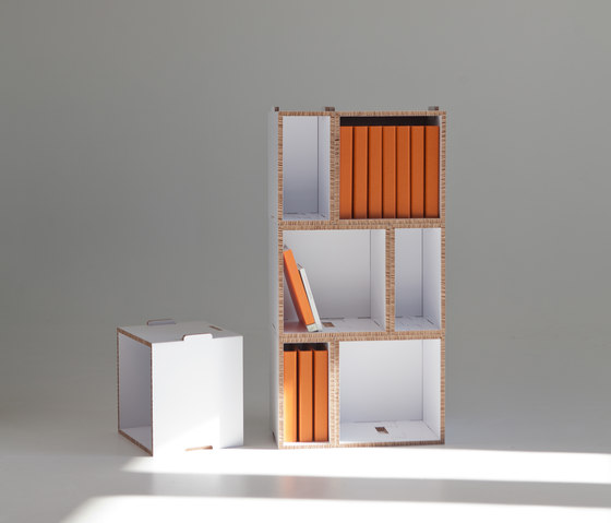 Kasa Cardboard Shelf by Showroom Finland Oy | Shelving