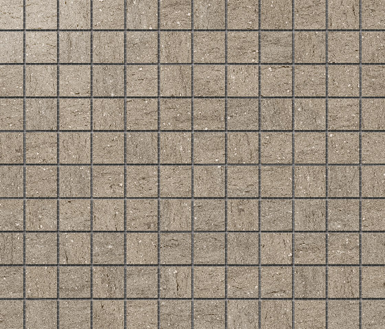 Magma Moka Satin Polished SK Mosaic B by INALCO | Ceramic mosaics