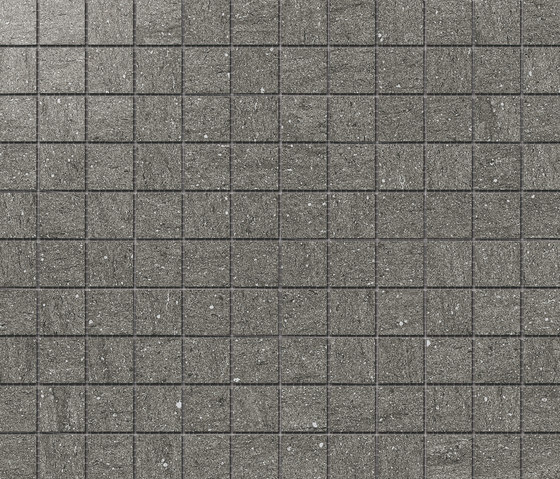 Magma Gris Satin Polished SK Mosaic B by INALCO | Ceramic mosaics