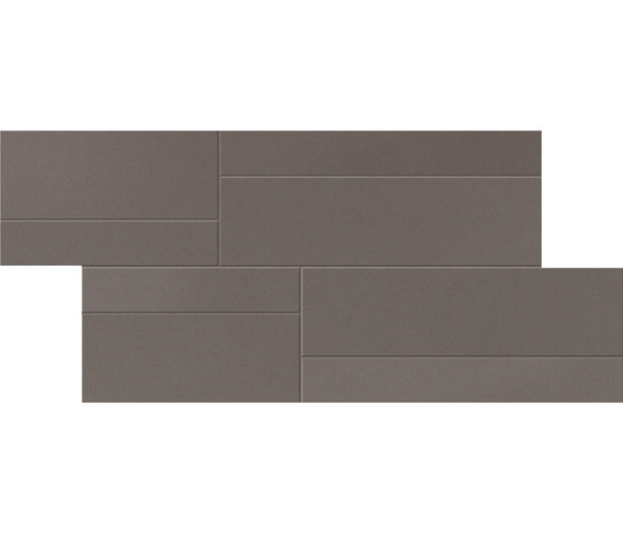 Foster Gris Mosaic C by INALCO | Ceramic mosaics