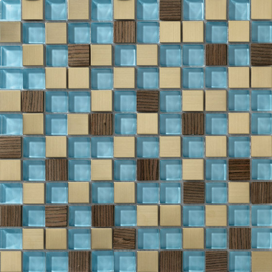 Dialoghi Mix op.6 by Mosaico+ | Glass mosaics