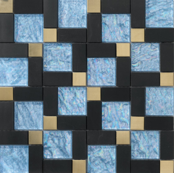 Dialoghi Misura op.6 by Mosaico+ | Glass mosaics