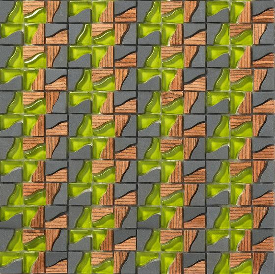 Dialoghi Agile  op.5 de Mosaico+ | Mosaïques verre