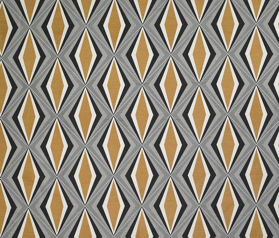 Caleidoscopio mostaza by Gastón y Daniela | Curtain fabrics