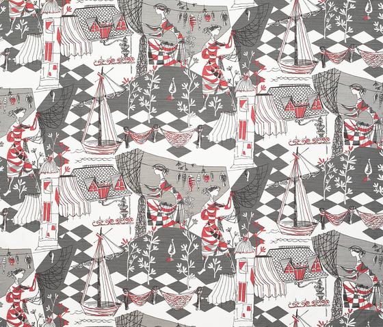 Villefranche rojo de Gastón y Daniela | Tejidos para cortinas