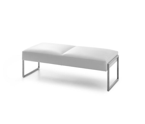 Entrada Bench by Leolux | Upholstered benches