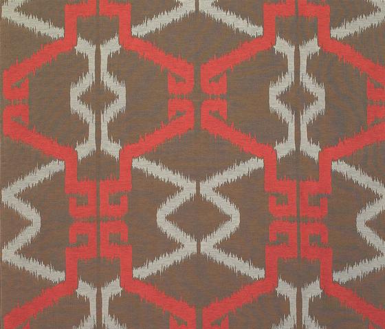 Uzbek naranja de Gastón y Daniela | Tejidos para cortinas