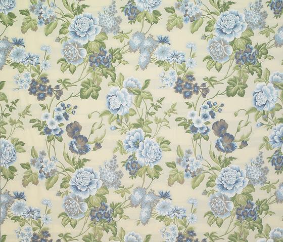 Peony azul by Gastón y Daniela | Curtain fabrics