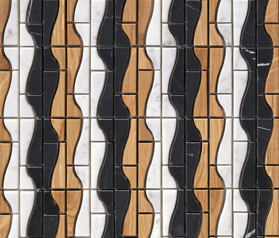 Dialoghi Agile op.13 by Mosaico+ | Natural stone mosaics