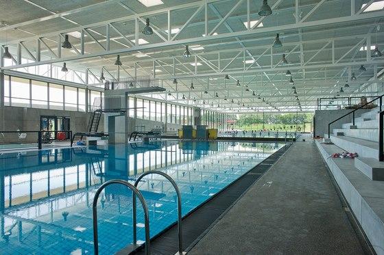 Applications | Bellahõj Swimmingpool von Troldtekt | Deckensysteme