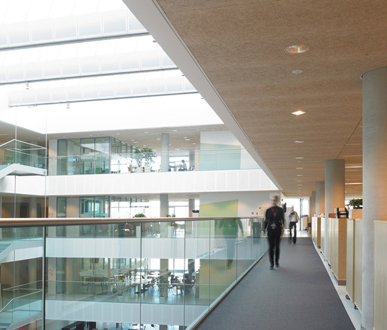 Applications | Danish Broadcasting Center by Troldtekt | Ceiling systems