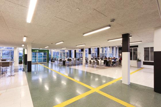Applications | KKG School Kristiansand di Troldtekt | Sistemi soffitto