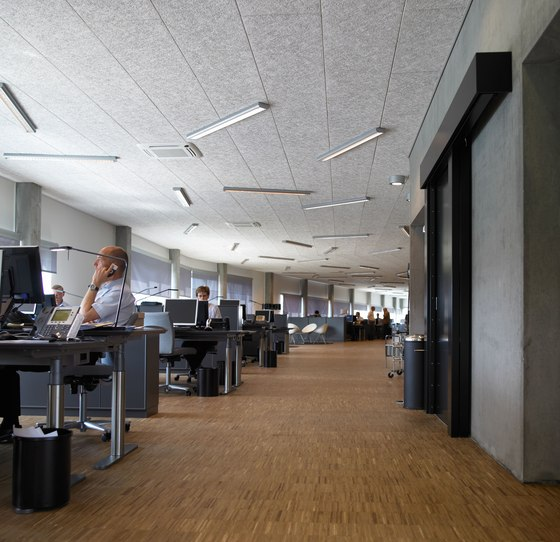 Applications | Max bank by Troldtekt | Ceiling systems