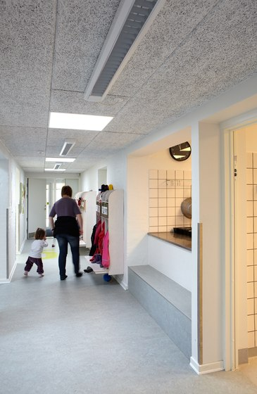 Applications | Spiloppen Kindergarden by Troldtekt | Ceiling systems