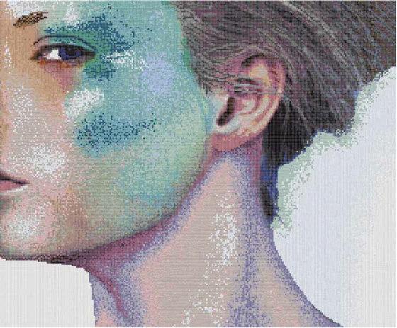 Studio Double Visions Masquerade de Mosaico+ | Mosaicos