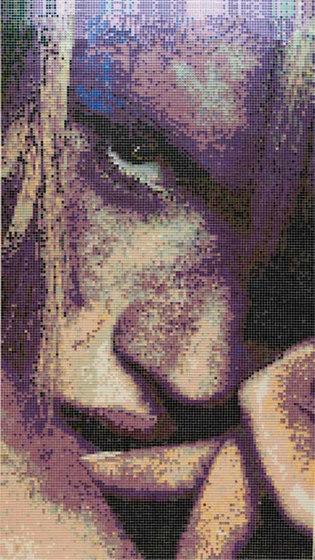 Studio The Look Lolita by Mosaico+ | Glass mosaics