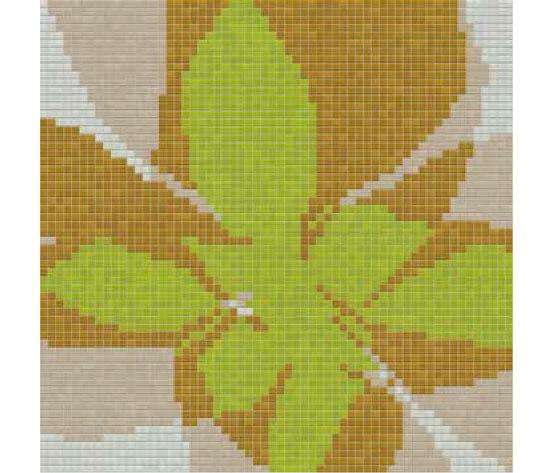 Studio Flowers Fiore Pop C von Mosaico+ | Glas Mosaike