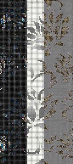 Studio Flowers Garofano Oro Bianco von Mosaico+ | Mosaike