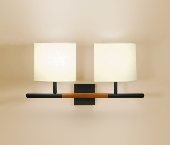 Danona 2 Luces wall light by BOVER | General lighting