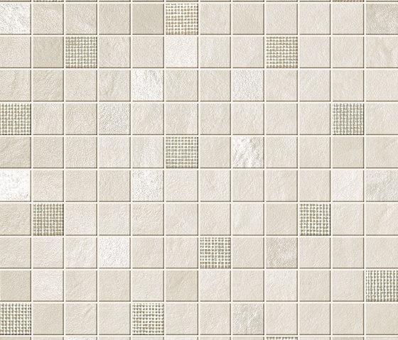 Evolve White Mosaico von Atlas Concorde | Bodenfliesen