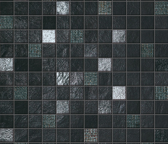 Evolve Night Mosaico by Atlas Concorde | Ceramic tiles