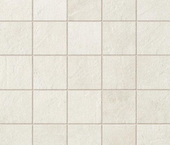 Evolve White Mosaico de Atlas Concorde   Carrelage pour sol