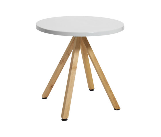 Robinia avec table Classic de nanoo by faserplast | Tables de cafétéria