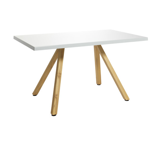 Robinia with tabletop Classic by nanoo by faserplast | Restaurant tables