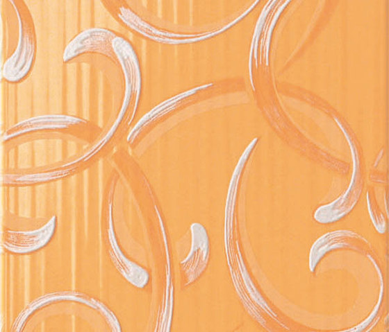 Gioia Deco Arancio by Atlas Concorde | Wall tiles
