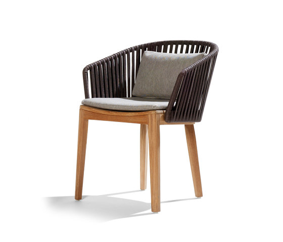 Mood Dining Chair | Teak by Tribù | Garden chairs