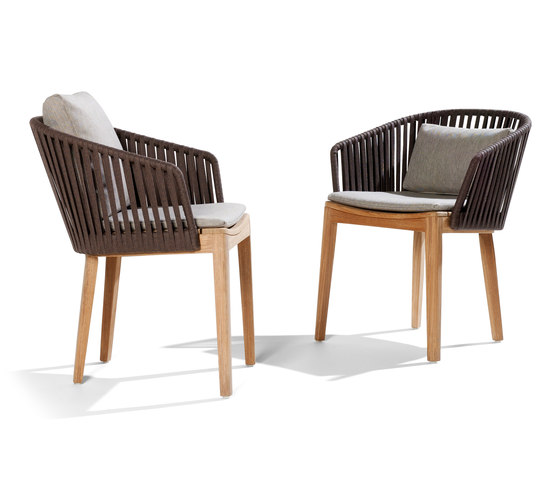 Mood Dining Chair | Teak de Tribù | Sillas de jardín