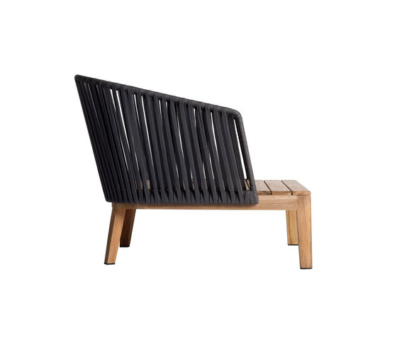 Mood Sofa / Club Chair by Tribù | Garden armchairs