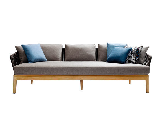 Mood Outdoor Sofa | Teak de Tribù | Sofas de jardin
