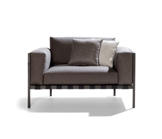 Natal Alu Sofa by Tribù | Garden sofas
